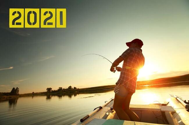 календарь рыболова на 2021 год - когда клюет рыба