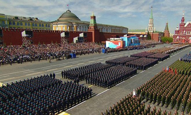 парад на день победы