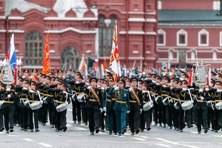 современный парад на день победы